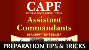 CAPF Assistant Commandant Exam