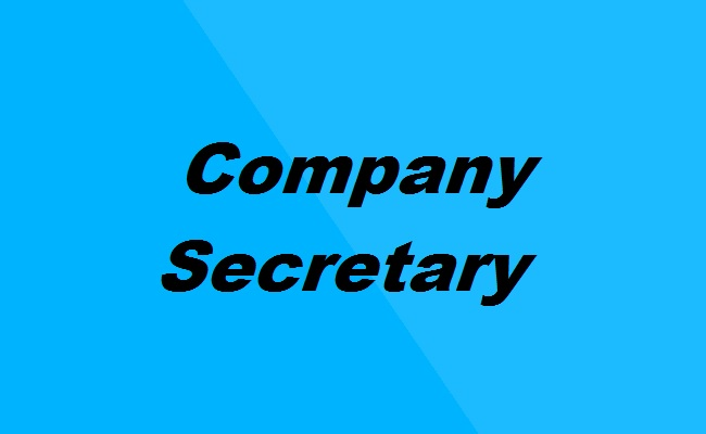 Company Secretary Photo